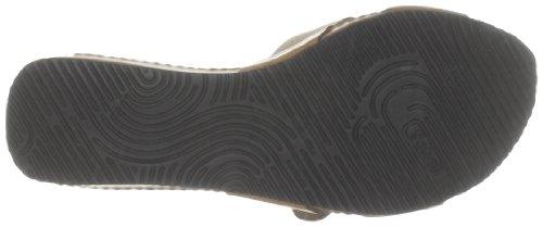 Scholl MAEST F24905 - Zuecos de cuero para mujer Marrón (Braun (Brown 1011))