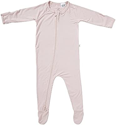 967ef7f091 Boody Body Baby EcoWear Long Sleeve Onesie - Soft Blanket Sleeper with Built  In Mittens made ...