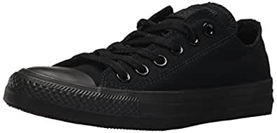 Converse Unisex ALL STAR OX, BLACK, 16