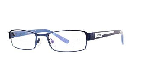 EyeBuyExpress Kids Childrens Reading Glasses Blue Rectangular Stainless - Reading Glasses Children's