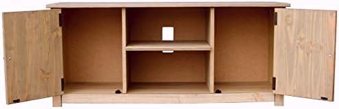 Panama Mueble para televisor con 2 Puertas y 1 Estante, Madera ...