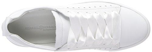 Kennel und Schmenger Schuhmanufaktur Women's Big Trainers Weiß (Bianco Sohle Weiß) RxFzmmaz