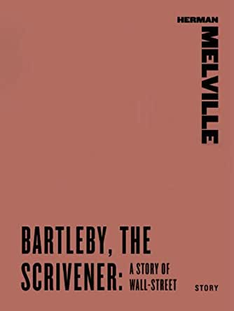 a literary analysis of bartleby the scrivener by herman melville Part of melville's skill in storytelling is his ability to weave significant stylistic   bartleby, the scrivener herman melville  critical essays literary technique   initial, casual throwaway remark meaningful in the overall analysis of the two  major.