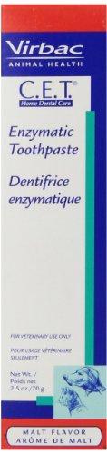 Malt Toothpaste Flavor - Virbac C.E.T. Enzymatic Toothpaste, Malt Flavor, 2.5 oz