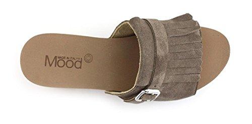 Zoccolo Mood M322T Tortora Taglia 40 - Colore TORTORA