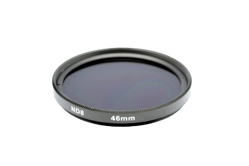 Gadget Career 46mm Neutral Density ND8 Filter for Panasonic Leica DG Macro-Elmarit 45mm F2.8 ASPH OIS by Gadget Career