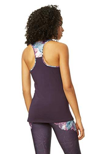 Artands large Tank Violet Shadow Femme Top Xl Desigual T Purple shirt 3086 X ZEp4Bq