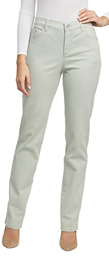 Coral Rose Colored (Gloria Vanderbilt Amanda Colored Straight Leg Denim Jeans Desert Sage 6 Short)