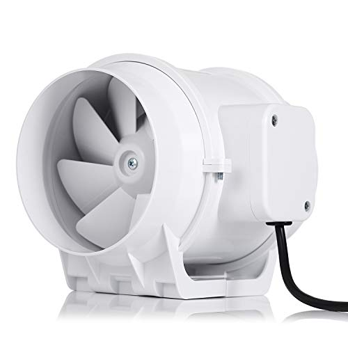 Hon guan 3 inch extractor fan high efficiency mixed flow - Bathroom exhaust fan 3 inch duct ...