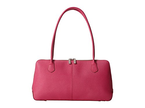 Hobo Women's Paulina Pink Saffiano and Venice Leather