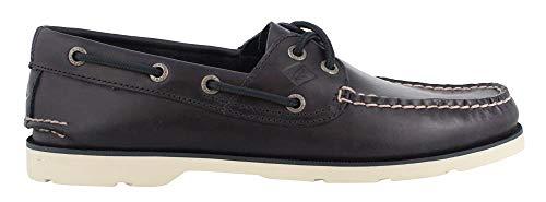 Men's Sperry, Leeward Boat Shoe Yacht Club Navy 9 W ()