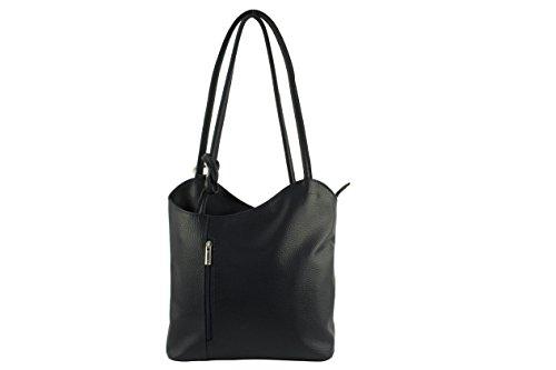 CHLOLY - Bolso mochila  de Otra Piel para mujer azul marino