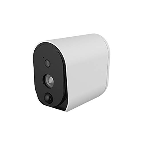 MMFFYZ Battery Surveillance Camera, Wireless IP Camera 1080P HD for Indoor/Outdoor with PIR Sensor, Two Way Audio, Night Vision and Micro SD Card Slot ()