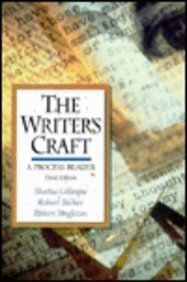A Process Reader: The Writer's Craft (3rd Edition)