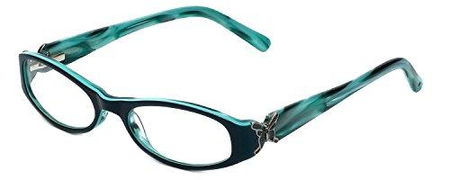 Judith Leiber JL3012 Designer Reading Glasses in Sapphire ()