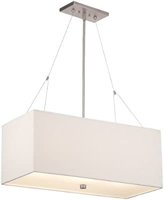 forecast lighting f44336 alexis 3 light pendant satin nickel
