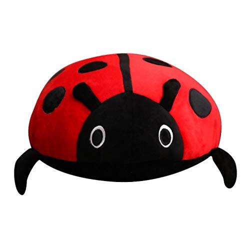 (Honey Candy Super Cute Ladybird Plush Toy Stuffed Toys Beetle Plush Pillow (80cm))