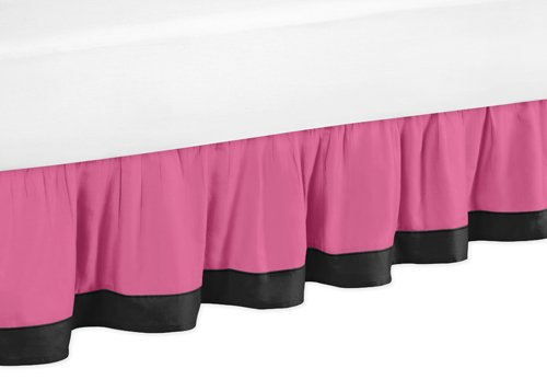 Sweet Jojo Designs Girls Soccer Queen Kids Children's Bed Skirt
