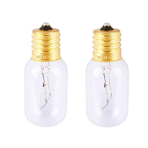 Light 30w Bulbs (Microwave Bulb 6912W1Z004B,Universal Type Incandescent Lamp,125-Volt 30-Watt Bulb, 2pcs)