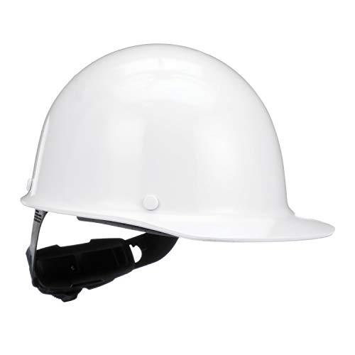 MSA 475396 Skullgard Cap Hard Hat, with 4-point Fas-Trac III Suspension, Standard, White -