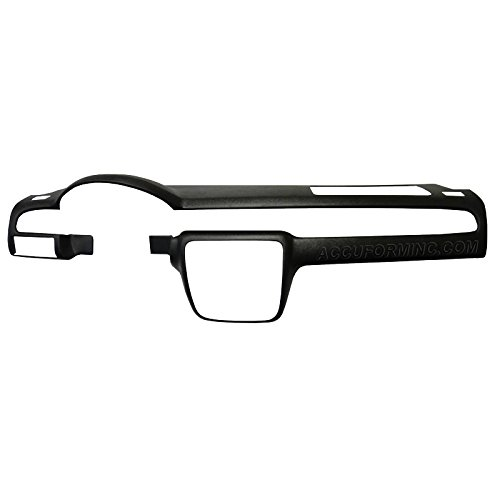FITS 2007-12 TAHOE/SUBURBAN/YUKON/CHEVY/GMC PICKUPS WITH 1 GLOVE BOX WITH A LID PLASTIC DASH CAP OVERLAY ()