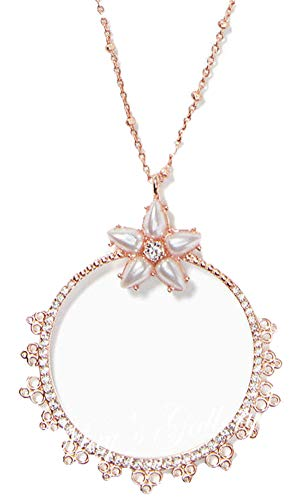 Kate Spade New York Mini Pendant Rose-Gold Chantilly Charm ()