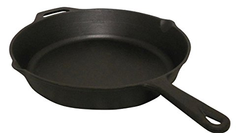 King Kooker CIFP15S Pre-Seasoned Cast Iron Skillet, 15-Inch