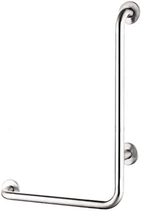Ältere Patienten Hilfshandlauf Satin Polish Edelstahl-Badezimmer-Dusche L-förmige Haltegriff Handlauf / Wand Gerade Handtuchhalter / Dusche Hilfe & Sicherheit Unterstützung Geländer Zupacken-Schiene m
