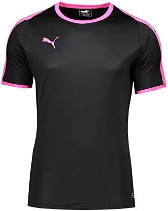 Puma Liga Trikot Kurzarm Schwarz Pink F41