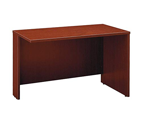 Wood & Style Office Home Furniture Premium Series C Collection 48W Return Bridge in Mahogany