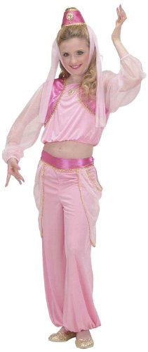 [Children's Genie In A Bottle Child 158cm Costume Large 11-13 Yrs (158cm) For] (Genie Outfit)