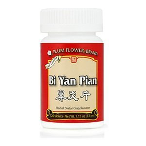 Plum Flower Chinese Tea, Bi Yan Pian, 120 Tablets ()