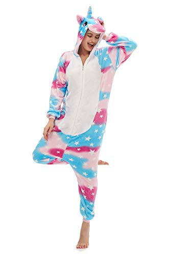 Yutown Adult Animal Costume Onesie Unicorn Cosplay
