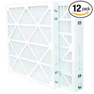 Santa Fe Force Dehumidifier MERV 8 Filter 14 x 17.5 x 2'' 4031062 Case of 12 by Santa Fe
