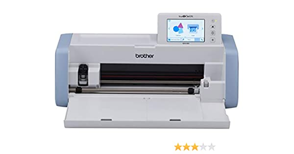 Brother Plóter de Corte con escáner ScanNCut Deluxe SDX1000, Bianco, 1: Amazon.es: Informática