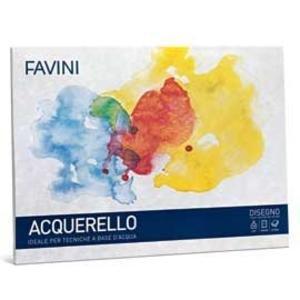 BLOCCO ACQUERELLO 10X15 10 FF 350 GR FAVINI