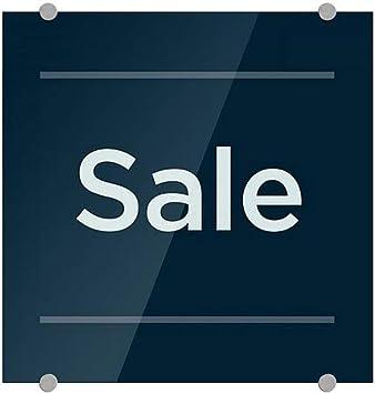 16x16 Sale CGSignLab 5-Pack Basic Navy Premium Brushed Aluminum Sign