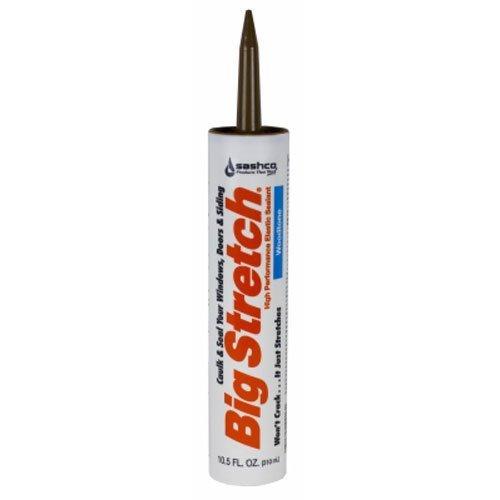 - Sashco 10018 10.5oz 10.5 Oz Wood Big Stretch Caulk & Seal