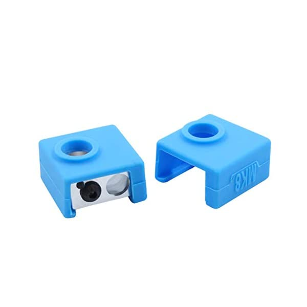 Shopiko Silicone Sock Cover for 3D Printer for Creality Ender 3 Heat Block Cover, CR-10, 10s, MK7/MK9 Hotend Sillicone Cover
