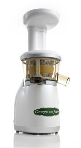 Omega VRT350 Heavy Duty Low Speed Masticating Juicer (white)
