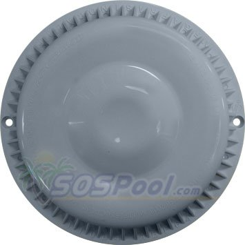 Anti Vortex Light Gray Drain Cover 7 3/8 inch made by Afras 11064LTGY