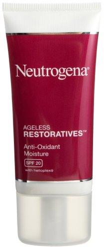 Ageless Restorative - Neutrogena Ageless Restoratives Anti-Oxidant Moisture Day Lotion, Age Reverse, SPF 20, 1.7 Ounce