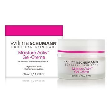 - WILMA SCHUMANN Moisture Activ Gel Crème - Hydrating & Antioxidant Moisturizer formulated to Protect your skin from Environmental Damage (1.7 oz / 50 ml)