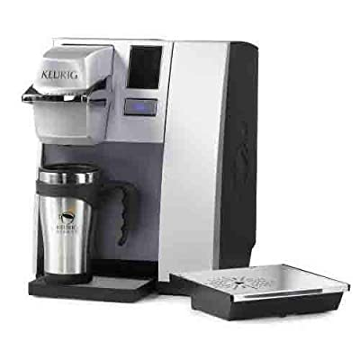 Keurig K155 Office Pro Commercial Single Serve K-Cup Pod Coffee Maker, Silver