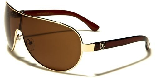 - Khan New 2014 Unisex High Fashion Latest Style Aviator Sunglasses-KN1087 (Amber Tortoise)