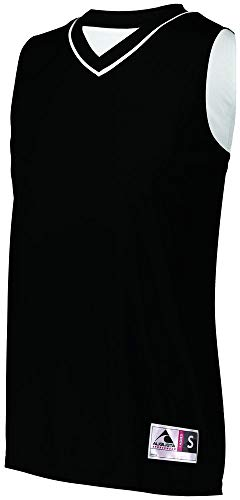 (Augusta Sportswear Womens Reversible Two-Color Jersey L Black/White)