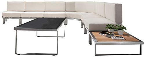 Mobili Da Giardino Di Design.Jet Line Design Set Di Mobili Da Giardino Con Divano Ad Angolo E