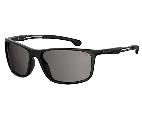 - Carrera 4013/S Black/Gray Lens Solid Polarized Sunglasses