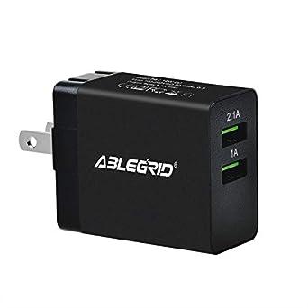 Review ABLEGRID 5V 1A/2.1A Dual