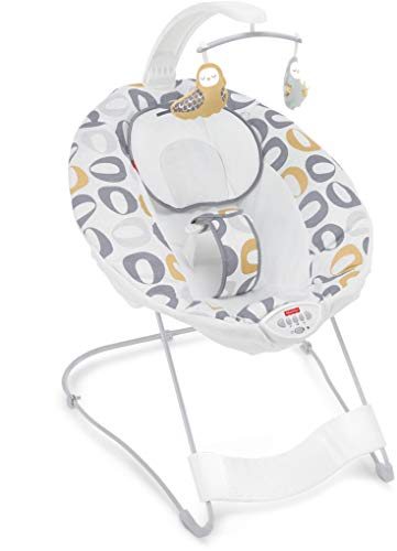 Fisher-Price See & Soothe Deluxe Bouncer, Kernel Pop